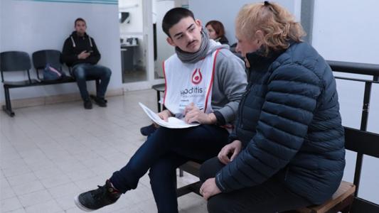 En la semana de la Hepatitis, 190 personas se hicieron el testeo gratuito