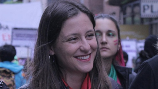 Camino a las urnas: candidata a diputada del Nuevo MAS llega a Villa María