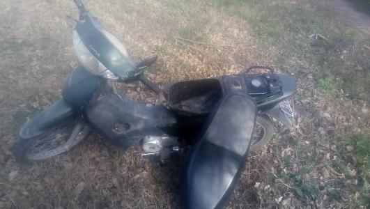Encuentran tirada en Villa Nueva moto robada en el parque Pereira