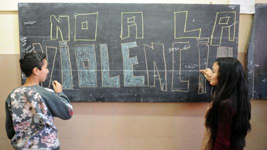 Violencia de género en la escuela: Hay más interés en tratar el tema