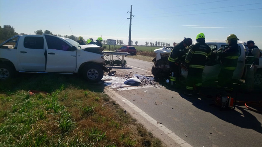 Accidente fatal: El otro conductor tiene politraumatismos