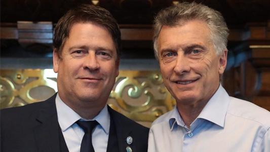 """Macri se reunió con Briner, el intendente de Bell Ville: Pidió """"trabajar por la gente"""""""