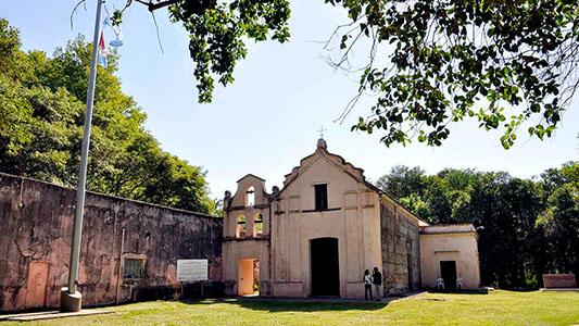 Capilla de 300 años en la que estuvo Belgrano, fue restaurada por un villamariense