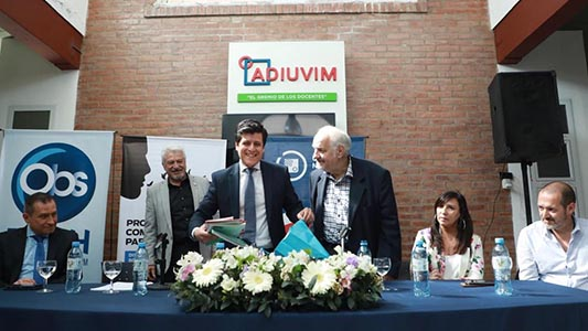 Con la visita de ministro provincial, la UNVM celebró los 10 años de trabajo en la cárcel