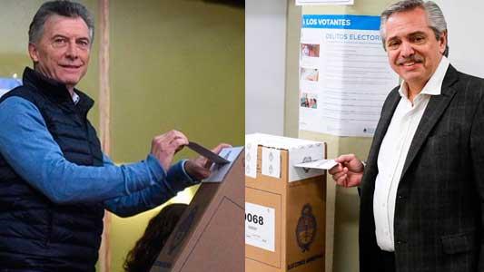 PASO 2019: Cómo les fue a Mauricio Macri y Alberto Fernández en Villa María