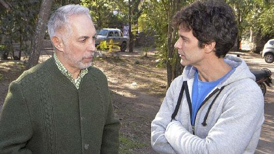 Mariano Martínez filma película en las sierras de Córdoba