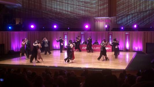 """""""Es un logro por ser nuestra primera vez"""", dijeron bailarines locales sobre el Mundial de Tango"""