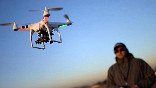 El futuro llegó: Proyecto local usa drones que hacen trabajos peligrosos para los humanos