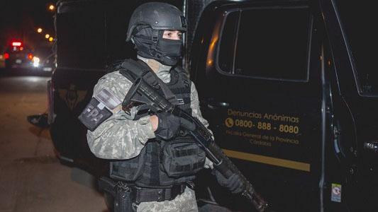 Acorralado, se entregó cabecilla de banda narco de Villa Nueva