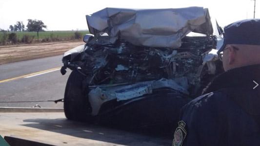 Accidente fatal: Cuatro personas perdieron la vida en la ruta 158