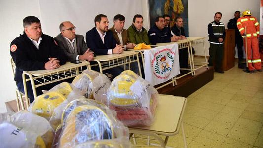Como en Europa: Bomberos de la ciudad y la región recibieron nuevo equipamiento