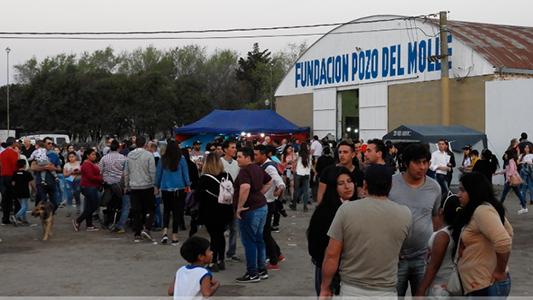Fiestas patronales en Pozo del Molle: expo con entrada gratis