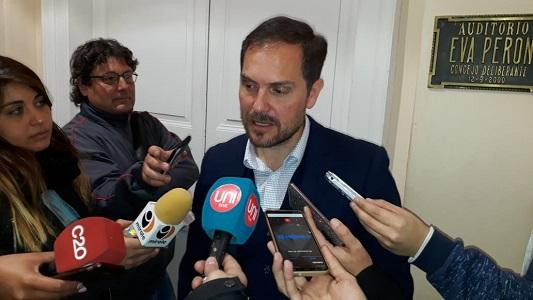 Gill adelantó detalles del proyecto Ciudad Deportiva a los concejales