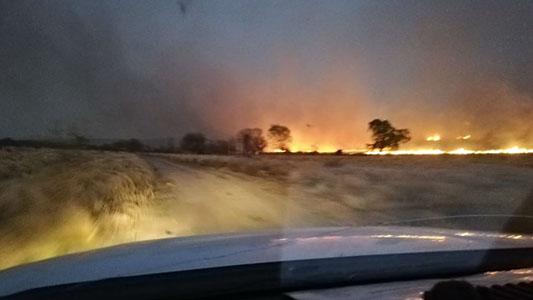 Incendios en sierras: controlan las llamas en La Cumbre y combaten nuevo foco en Salsacate