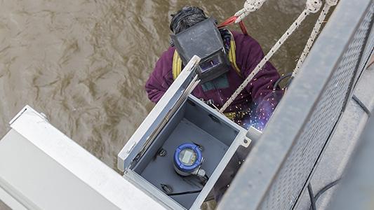 Bell Ville: Controlan en tiempo real y online la crecida del río para prevenir inundaciones