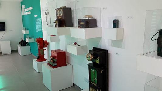 ¿Qué objetos se pueden encontrar en el Museo Ferroviario?