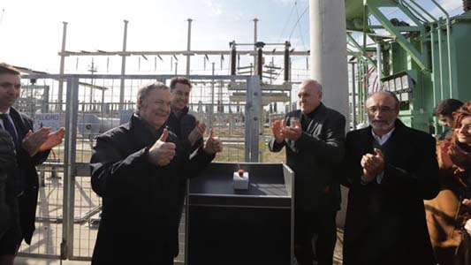 Schiaretti visitó Las Varillas y habilitó Estación Transformadora de energía