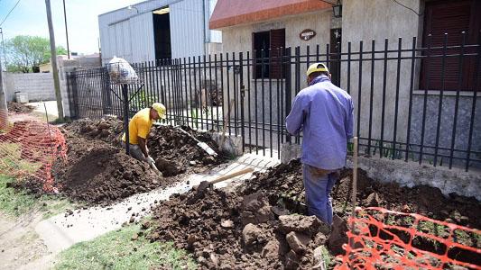 Comenzó la obra de gas en 4 manzanas de barrio San Martín