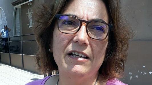 """Karina Bruno: """"Trabajamos mucho para vaya más gente a votar"""""""