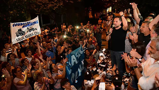 Gill pidió dejar atrás la grieta y las divisiones entre argentinos
