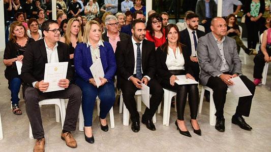 Autoridades electas de Villa Nueva recibieron certificados en acto de proclamación