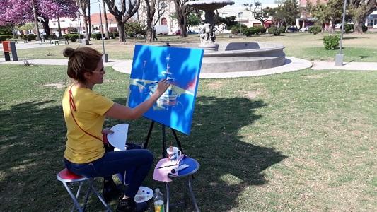 Pintando Villa Nueva: más de 100 artistas dispersos por la ciudad