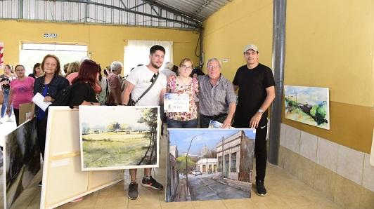 Villa Nueva dio $ 144.000 en premios a quienes pintaron sus mejores paisajes