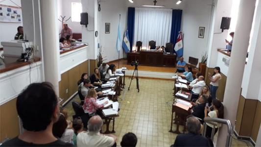 Con 9 votos contra 3, se aprobó el canje de Plaza Ocampo