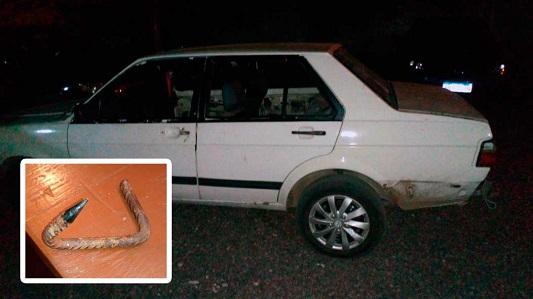 Peligro: Así asaltaron a un auto que viajaba a Córdoba por la Autopista