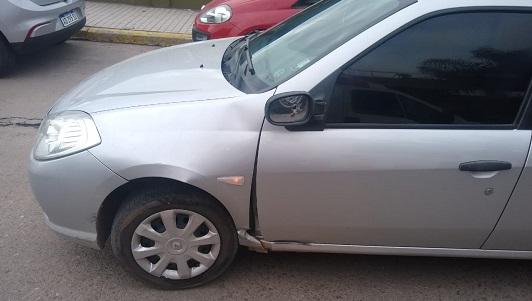 Se fracturó la cadera al chocar en moto en bulevar Sarmiento