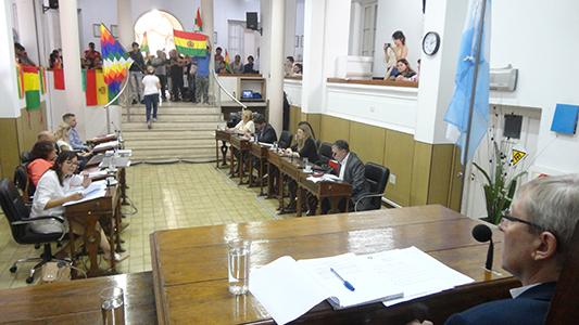 Concejales de ambas villas repudiaron el golpe de Estado en Bolivia
