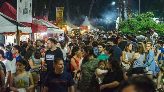 Exitosa primera experiencia de la fiesta de la cerveza en Villa Nueva