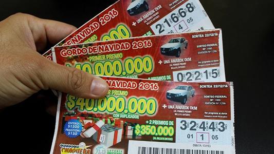 ¡Que suerte! Un villamariense es el ganador de $1 millón del Gordo de Navidad