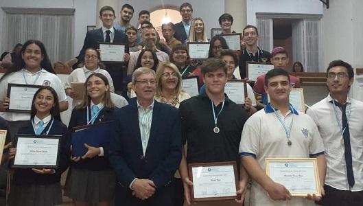 El Top 20 de jóvenes de Villa María que ganaron el reconocimiento del Concejo