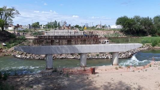 El nuevo puente estará listo después del verano