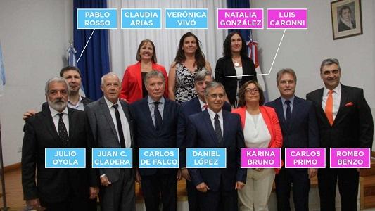 Las caras y los nombres del nuevo Concejo Deliberante de Villa María
