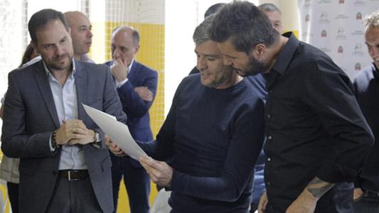 Gill estuvo con Tinelli en Buenos Aires: De qué se habló en esa reunión