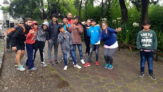 Chicos de la Escuela Granja tuvieron su viaje de estudios a Córdoba