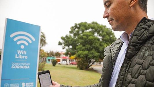 Las 3 plazas del Departamento San Martín que tendrán el servicio de WiFi libre