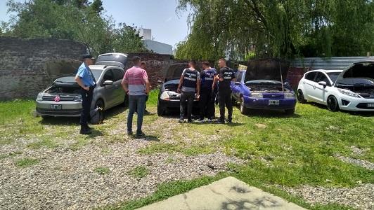 Autos robados estaban en una cochera de barrio San Martín