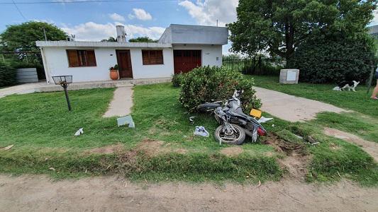 Falleció Diego Luque, el motociclista chocado por un taxista que se fugó