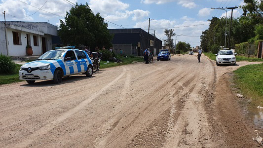 Choque y fuga: Identificaron a un taxista y le dio positivo el test de alcoholemia