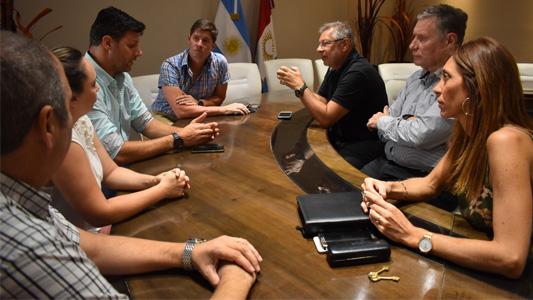 La nueva comisión directiva de AERCA se reunió con De Falco: De qué hablaron