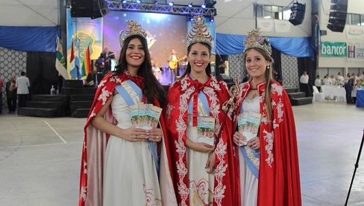 De fiesta en fiesta: las soberanas del Festival lo promocionaron por el país