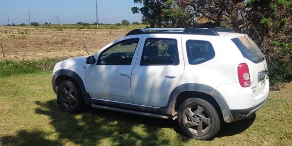 Robaron una camioneta en Río Tercero y apareció al lado de la ruta