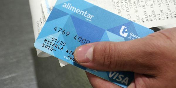 Tarjetas AlimentAR: 4.418 llegarían al departamento San Martín