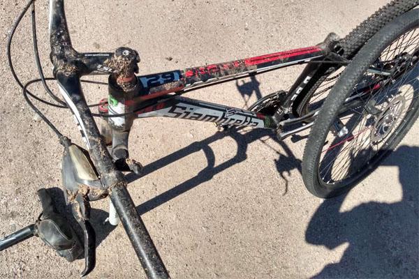 """Después de 2 meses, la Policía le devolvió la bici: """"La tenían tirada"""""""
