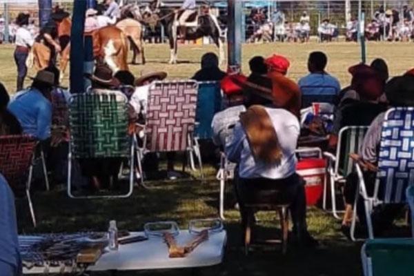 Malestar en Pasco por un masivo Festival de Doma: «Se nos ríen»